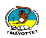 Logo Comité départemental de pétanque de Mayotte (CDPM)