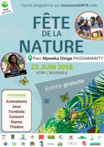 Fête de la nature le 23 juin 2018à Mayotte