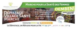 Marche pour la Santé des Femmes - REDECA