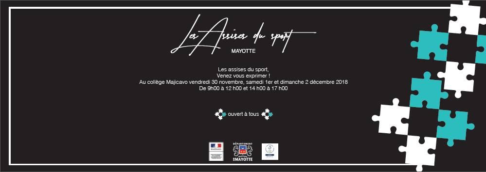 Les assises du sport à Mayotte!