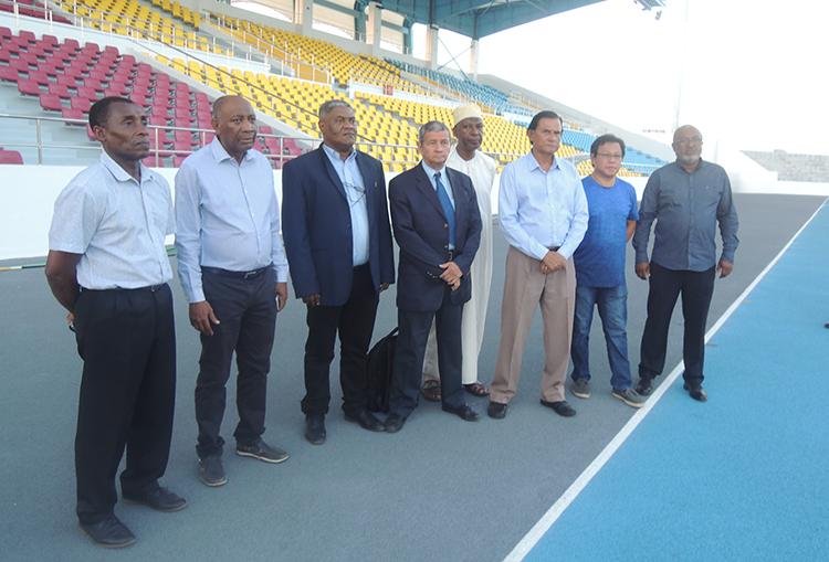 CIJ aux Comores pour les Jeux des Iles de 2023