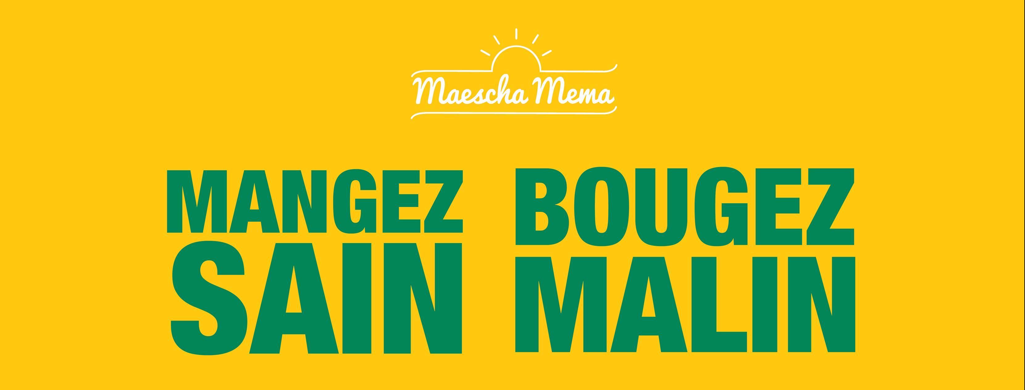 Livret Maescha Mema / Mangez-sain Bougez-malin