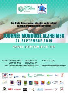 Journée mondiale Alzheimer